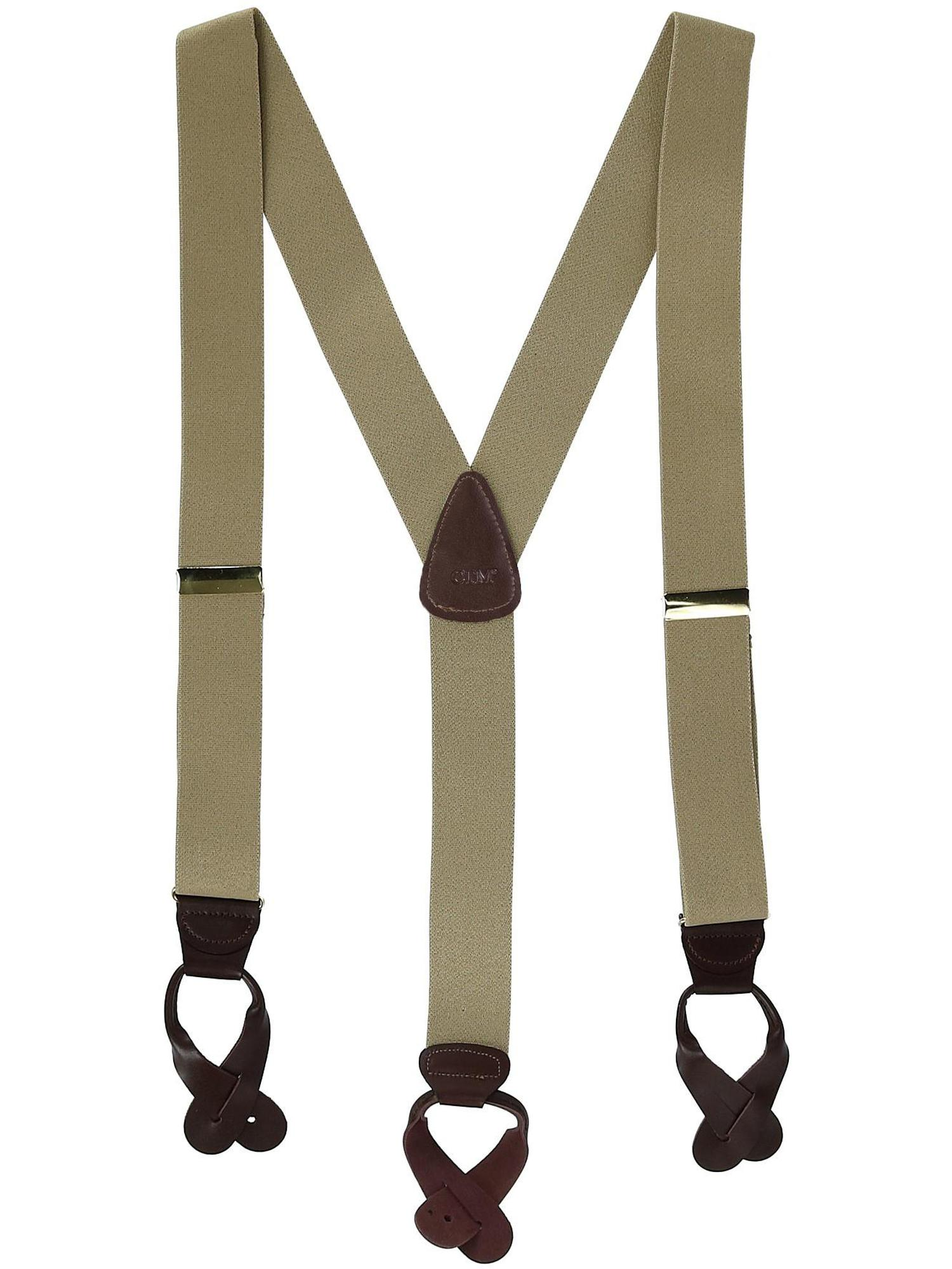 Red Suspender Station 2 Wide Mexican Flag Suspenders Green,White 48