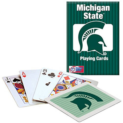 Officially Licensed NCAA Michigan State Playing Cards