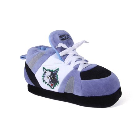 a19e7e6c01befc Happy Feet Mens and Womens NBA Minnesota Timberwolves - Slippers - Small -  Walmart.com