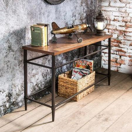Furniture Of America Colegate Light Oak Sofa Table