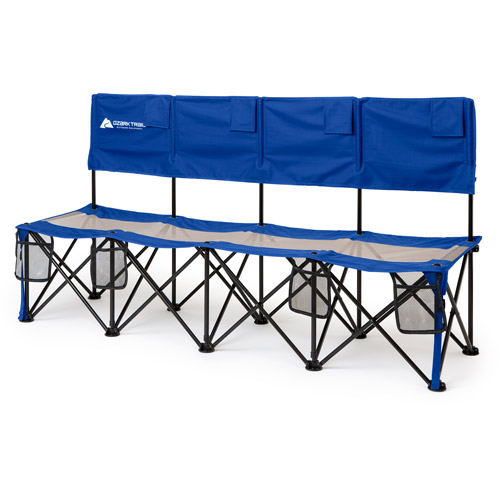 Ozark Trail Convertible Bench, 225 lb Capacity, Blue by Outdoor Benches