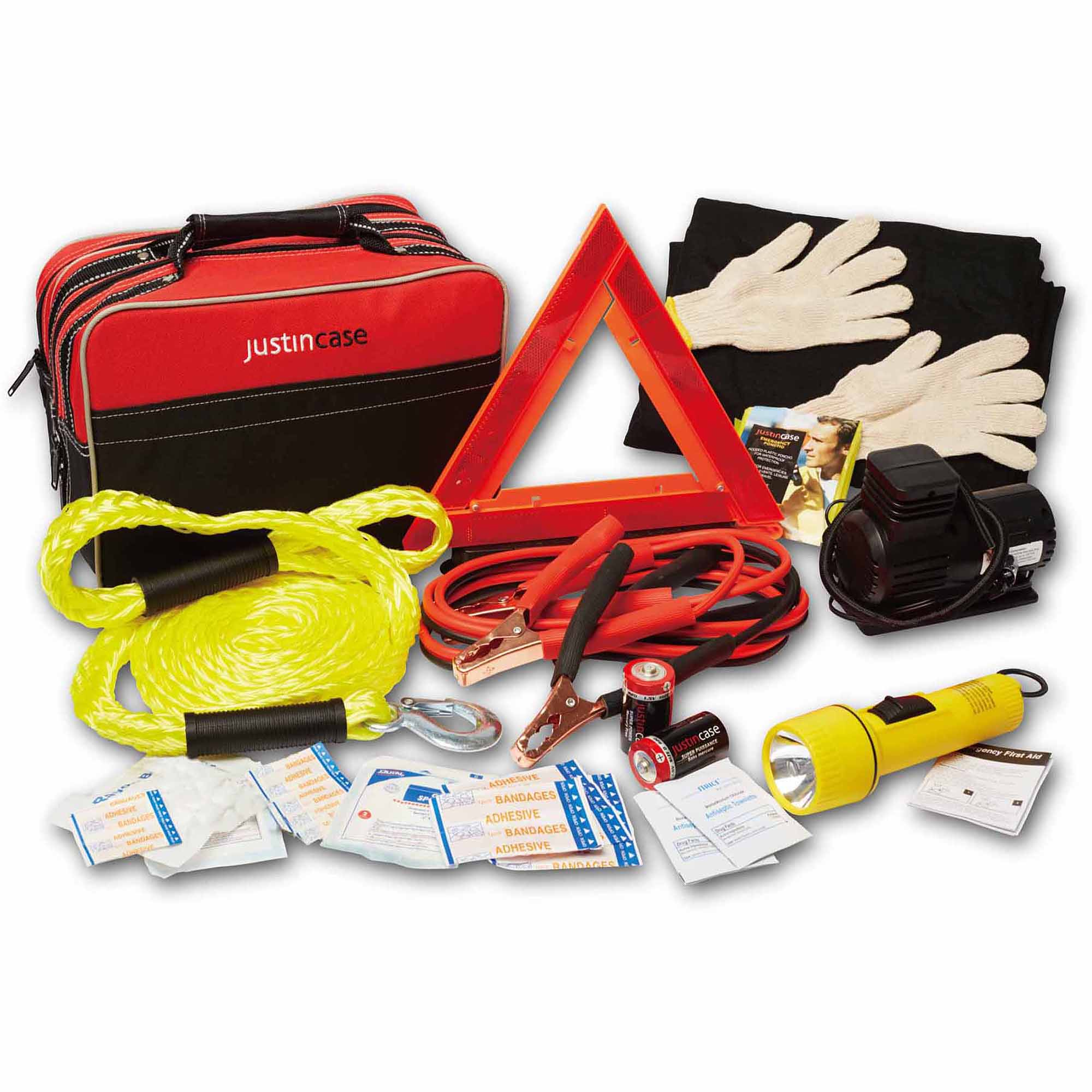 Justin Case Premium Travel Pro Auto Safety Kit