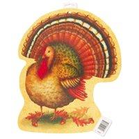 Festive Turkey Thanksgiving Decoration, 16.5in