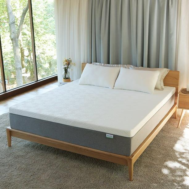 Novilla Bliss 10'' Gel Memory Foam Mattress Cool Sleep&Pressure Relief with Zippered Cover, Queen Mattress