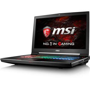 "MSI GT Series Titan 17.3"" Laptop Intel Core i7 16GB GeForce GTX 1070 1TB HDD + 256GB Solid State Drive Aluminum Black MSI GT73VR TITAN-426"