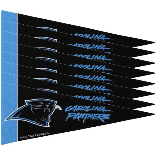 Carolina Panthers 8 Piece Mini Pennant Set