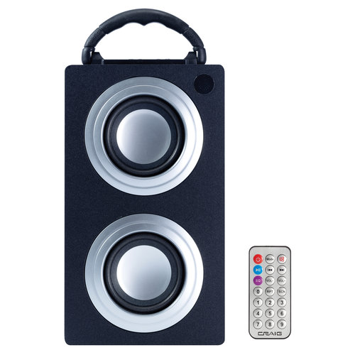Craig Electronics C4189BT Craig C4189bt Digital Bluetooth Mini Tower With Usb And Sd