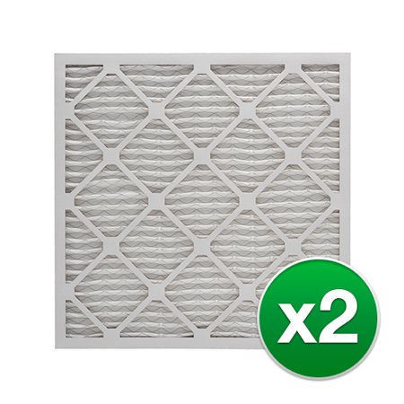 Replacement Honeywell 16x25x4 AC Furnace Air Filter MERV 11 - 2 Pack
