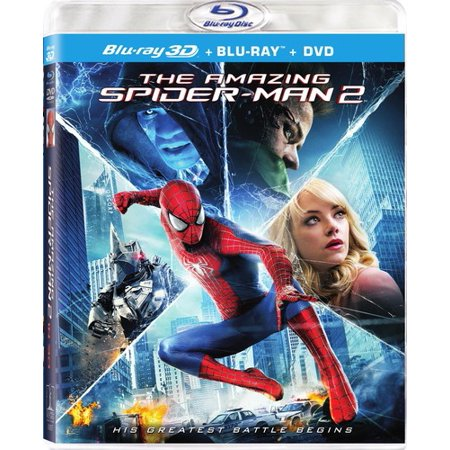 The Amazing Spider Man 2  Blu Ray   Blu Ray   Dvd