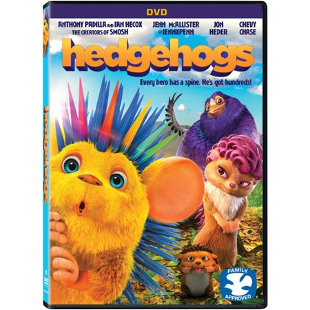 Hedgehogs (2017) (DVD) - Hedgehog Information For Kids