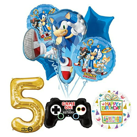 The Ultimate Sonic The Hedgehog 5th Birthday Party Supplies - Birthday Party Stores