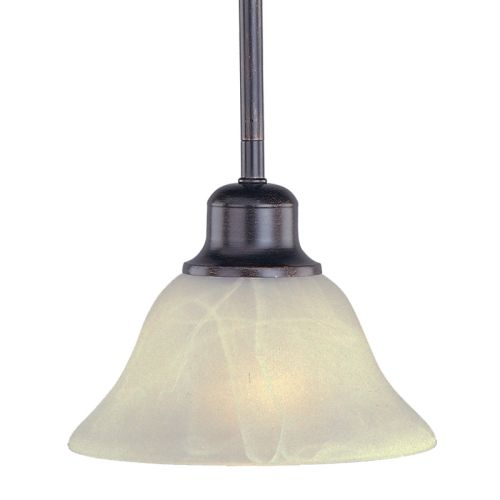 """Maxim 91068 1 Light 7"""" Wide Pendant from the Pacific Collection"""