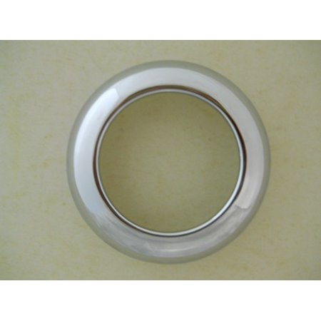 "2.5"" Chrome Twist On Bezel / Clean Look / No Screws / Fits 2.5"" Round LED Lights"