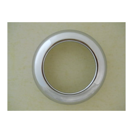 "2.5"" Chrome Twist On Bezel / Clean Look / No Screws / Fits 2.5"" Round LED Lights"