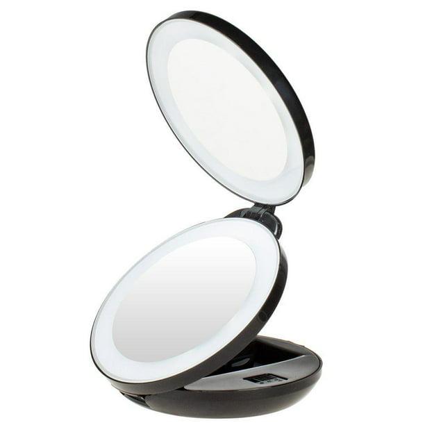 Kedsum 1x 10x Double Sided Led Lighted, Kedsum 6 8 10x Magnifying Led Lighted Makeup Mirror