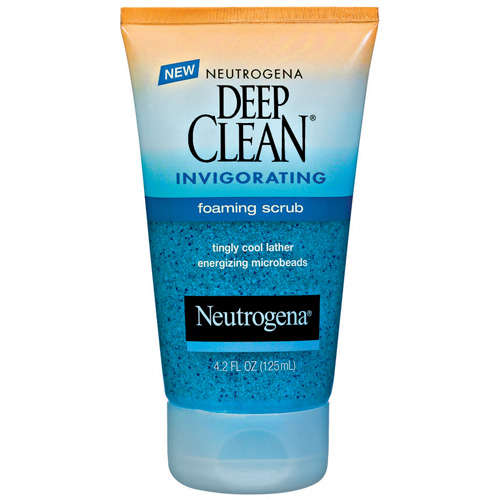 Neutrogena(R) Foaming Scrub Deep Clean(R) 4.2 Oz