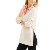 Faded Glory Womens Hi-Low Tunic Sweater