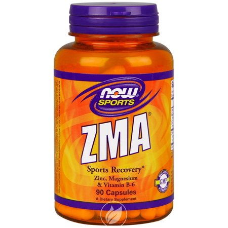 Now Foods - ZMA, Sports Recovery, 90 Capsules, Pack of