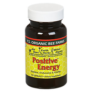 Positive Energy - 35 Capsules by YS Eco Bee Farms