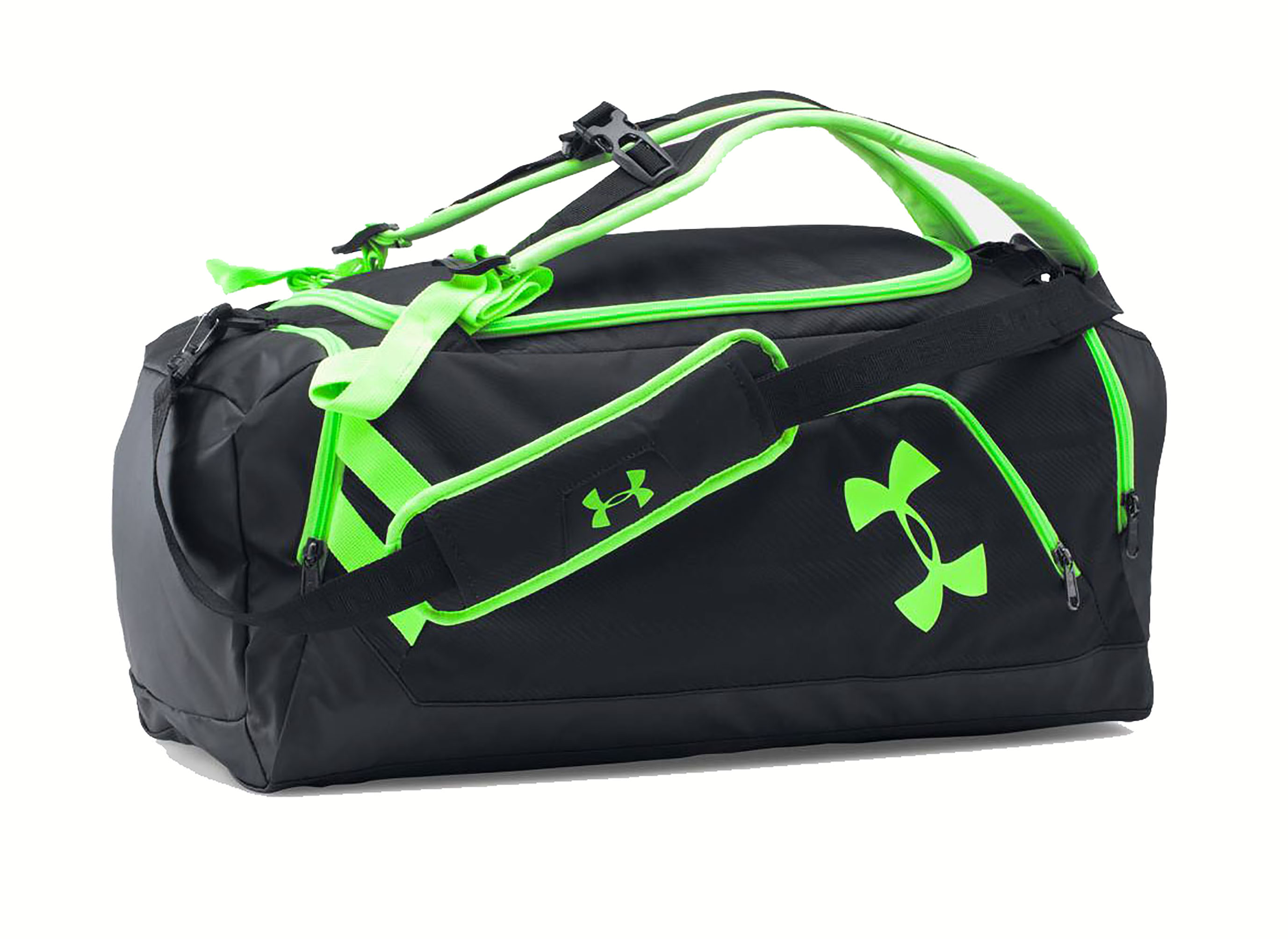 Under Armour Storm Undeniable Backpack Duffle Black Black Quirky Lime by Under Armour