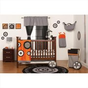 One Grace Place 10-20118 Teyo's Tires Infant 3 Piece Crib Bedding Set
