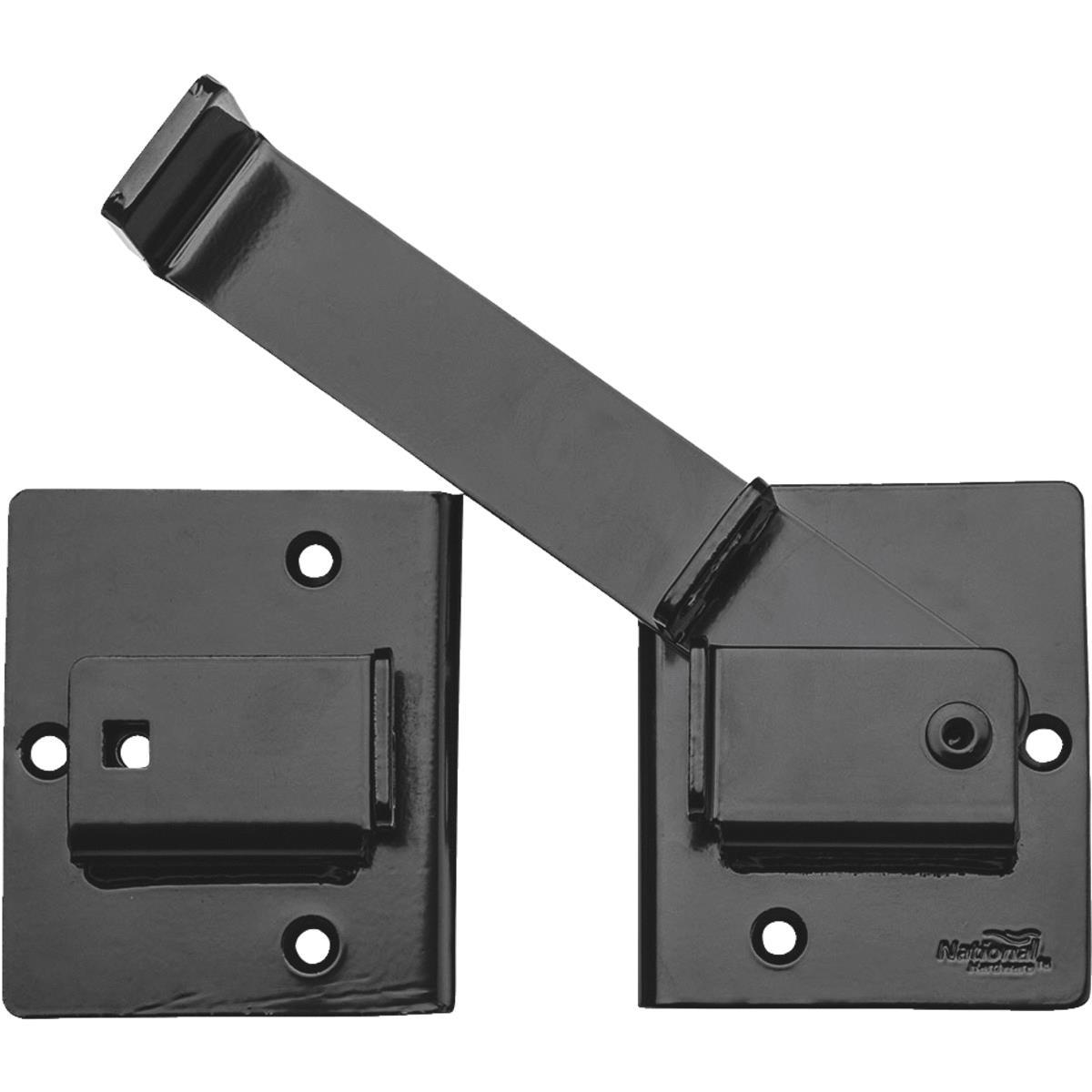 National Hardware N109-001 Black Heavy Duty Flip Latch