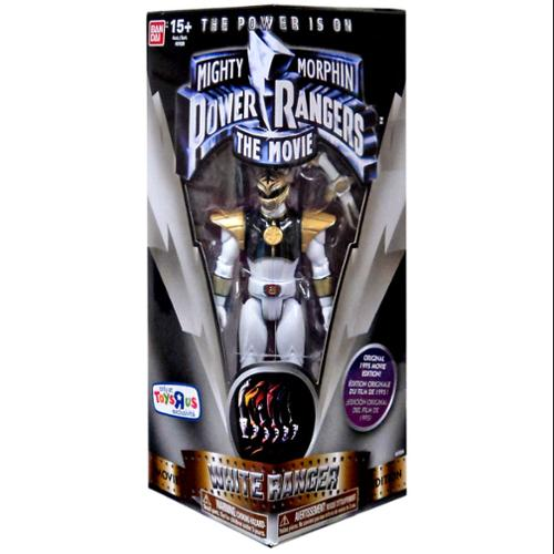 Power Rangers Legacy Mighty Morphin Movie 5-Inch White Ranger Action Figure by