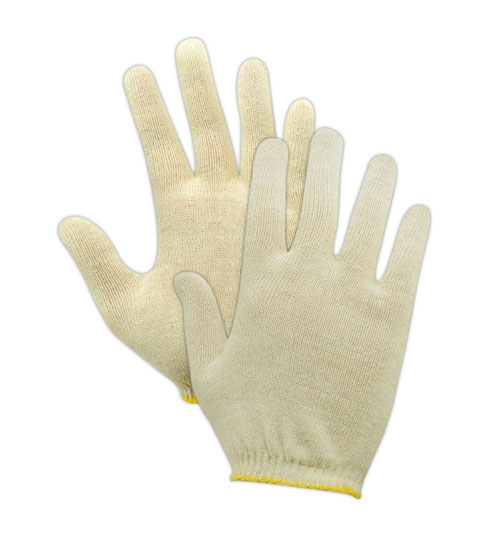 Magid TouchMaster Seamless Lisle 6.75 inch long Gloves Small, 12 Pairs