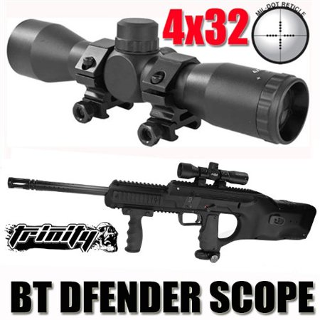 Paintball Scope for Bt Dfender Paintball Gun, Bt Dfender Scope, Bt Dfender Paintball Gun Scope, Bt Paintball Gun Sight, Bt Dfender Gun Combat Scope, Tactical.., By Trinity from USA