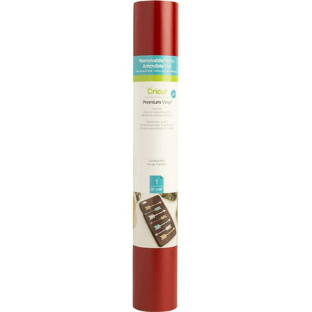 Cricut 2004311 12 x 48 in. Roll Circuit Vinyl - Cardinal Red