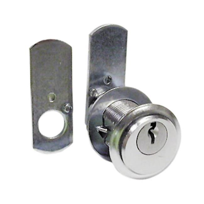 National Lock N8109 26D 915 1-. 75 inch Cylinder Pin Tumbler Locks With Key 915 - Dull Chrome