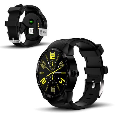 Smartwatch by Indigi with Heart Rate and Activity Tracking, Sleep Monitoring, GPS, Long Battery Life, Warranty