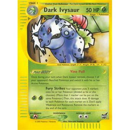Pokemon Promo Cards Dark Ivysaur #6 [Best Of (Best Pokemon Iv Calculator App)
