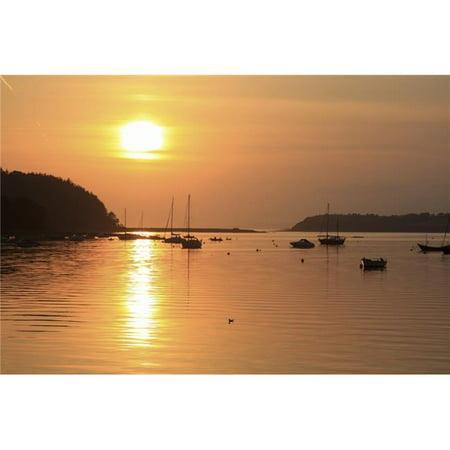 Bantry Bay Bantry Co Cork Ireland - Sunset Over Harbour Poster Print, 18 x 12 - image 1 de 1