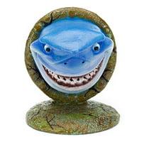 "Penn-Plax Disney Finding Nemo Aquarium Ornaments - Bruce (4.5"" Tall)"