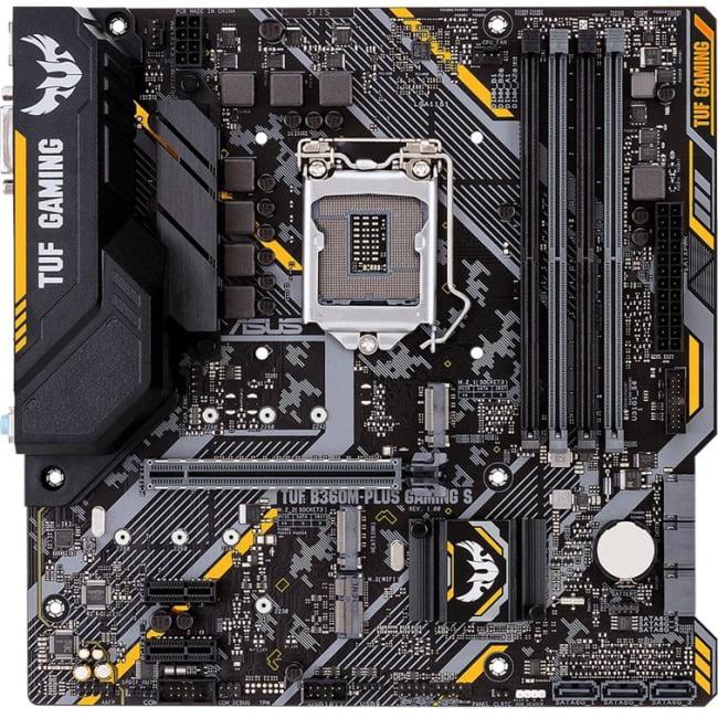 Asus TUF B360M-PLUS GAMING S Motherboard - Socket H4 LGA-1151 - Micro ATX