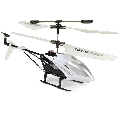 Gyro RC Helicopter White Remote Control Twin Propeller To...