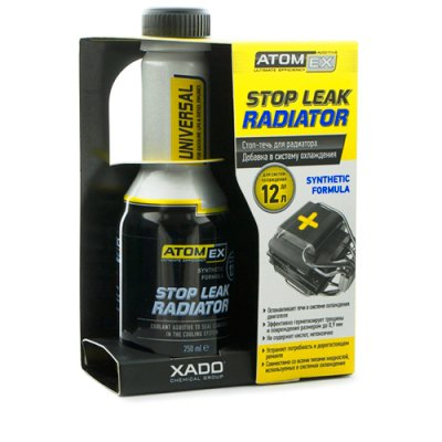 AtomEx Stop Leak radiator Cooling system - Cooling Additive