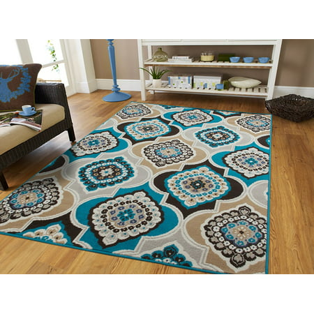 Contemporary Area Rugs Blue 5x8 Area Rugs On Clearance 5x7