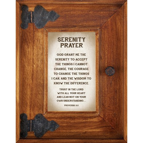 CB Gift Serenity Prayer Picture Frame