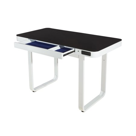 - Powell Lynk Desk with Adjustable Height, White