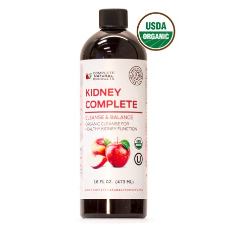 Kidney Complete - Organic Liquid Chanca Piedra Blend & Natural Kidney Stones Dissolver (Best Way To Pass Kidney Stones Naturally)
