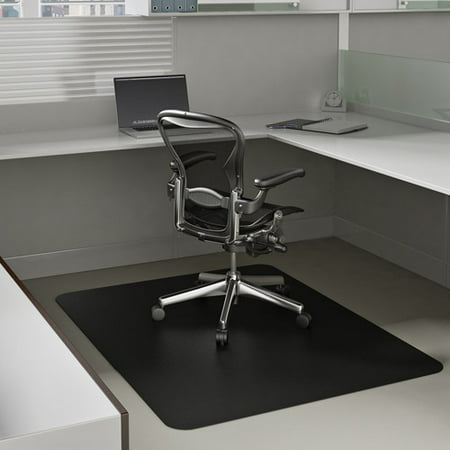 Deflecto Economat 36 X 48 Chair Mat For Low Pile Carpet Rectangular Black