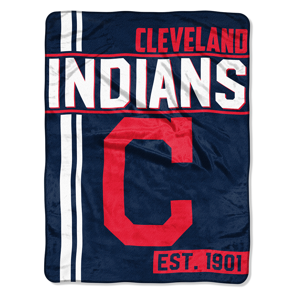 "MLB Cleveland Indians ""Walk Off"" 46""x 60"" Micro Raschel Throw"
