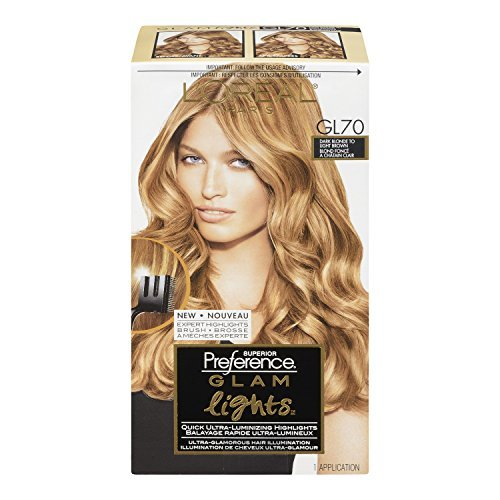 L'Oreal Paris Superior Preference Glam Lights Brush-On Glam Highlights - GL70 Dark Blonde to Light Brown (Pack of 3), Products you trust from L'Oreal By LOreal Paris