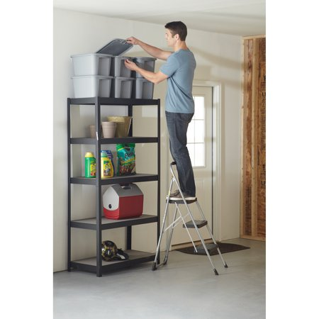 Cosco Big 3 Step Folding Step Stool With Rubber Hand Grip