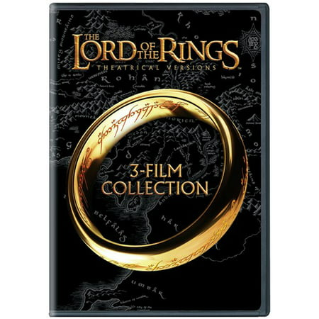 The Lord of the Rings: Theatrical Versions: 3-Film Collection (Lord Of The Rings Theatrical Vs Extended)