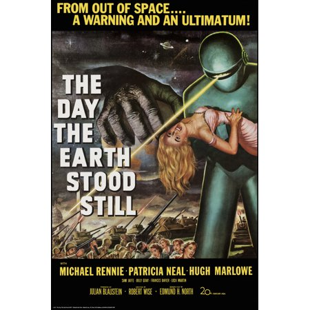 Day the Earth Stood Still Movie Poster 24x36 inch