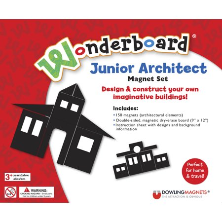 Dowling Magnets Wonderboard Junior Architect Magnet Set - Junior Architect