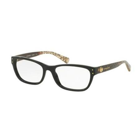 642d24e9082e5 COACH Eyeglasses HC6082 5353 Black Wild Beast 53MM - Walmart.com